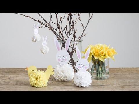 DIY: Easter decorations for the entire family by Søstrene Grene
