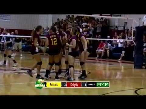 FCA Knights volleyball v BU Rockets - 09-25-14