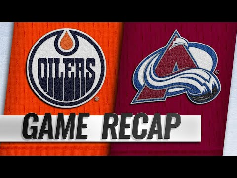 Oilers top Avalanche for fourth straight win