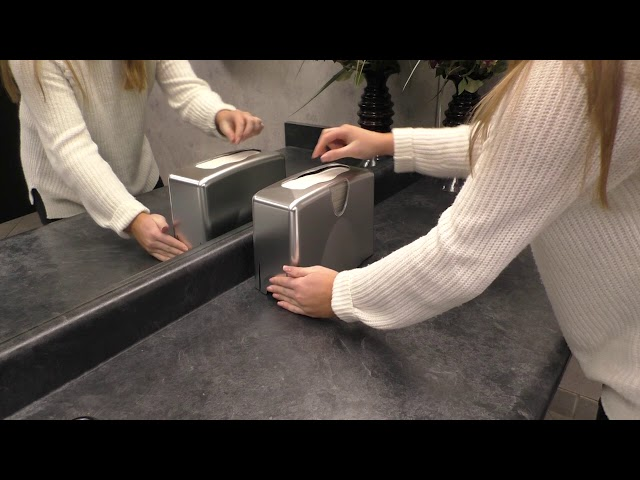 T1740 Countertop Towel vs The Competitor Video