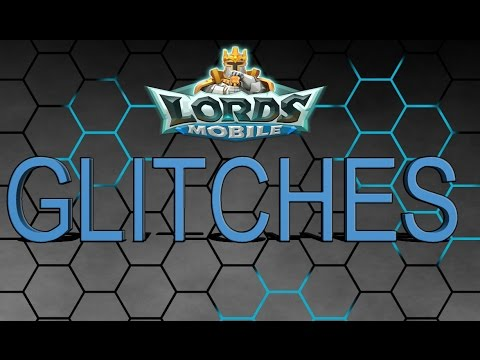 Lords Mobile MORE LORDS MOBILE GLITCHES!   LEADER NOT BEING CAPTURED????