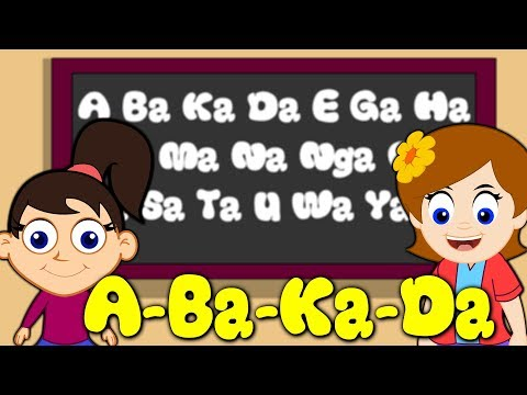 ABaKaDa song | abakada Filipino Alphabet | Awiting Pambata Tagalog | Learn Filipino for kids |Rhymes