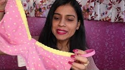 ONLINE LINGERIE SHOPPING | SHYAWAY HAUL |How To Measure  Bra & Panty Size Online|LINGERIE HAUL INDIA
