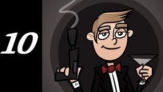 007 Legends of the Wii U - 007 Legends Wii U Walkthrough / Gameplay w/ SSoHPKC Part 10 - Stealth Is Not My Forte