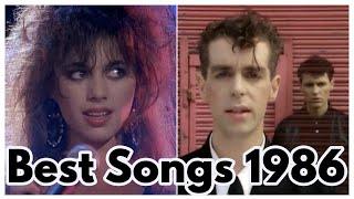 BEST SONGS OF 1986