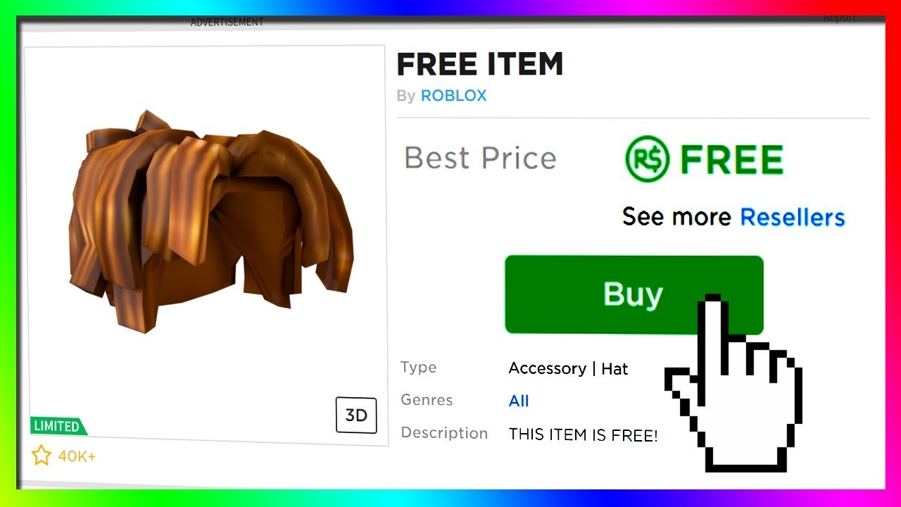 66 Roblox Items You Can Get For Free Right Now Youtube