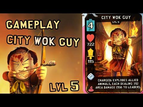 Gameplay City Wok