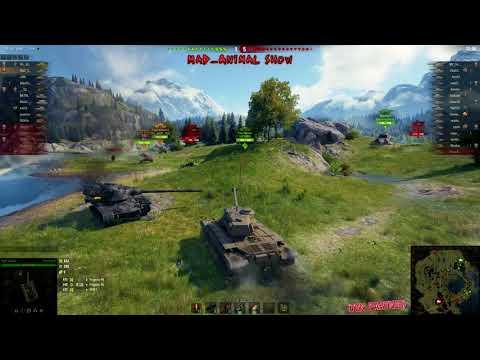 (good-teamwork)-world-of-tanks-m46-patton-#34-hd-(elgato-hd60)