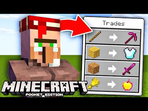 Minecraft, but villagers trade extreme op items…   Minecraft mods   addons   nariyal is op
