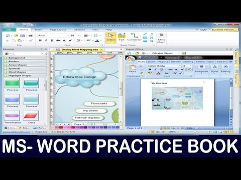 Ms Word Crash Course Edition For Job Training || Ms Word Bas