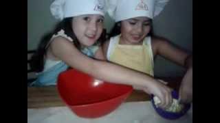 Cocinando Cookies By Martina Y Ana Paula Parte 1