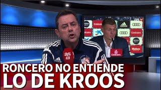 Roncero no entiende la renovación a Kroos | Diario AS