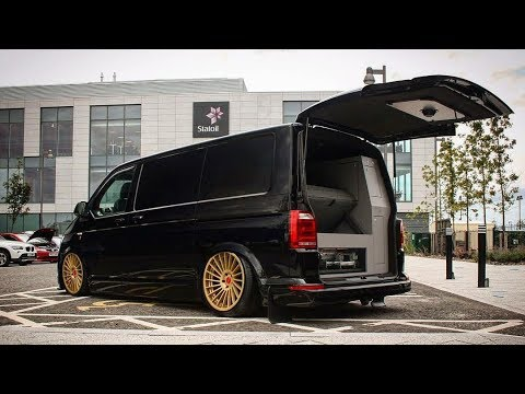 vw transporter t6 bagged tuning project by nico youtube. Black Bedroom Furniture Sets. Home Design Ideas