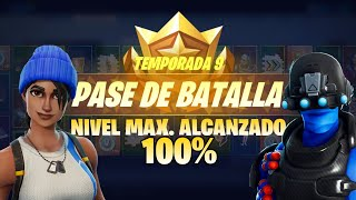 **SEASON 9** SKIN LEVEL 100! - Fortnite: Battle Royale #BELKINNAUTA