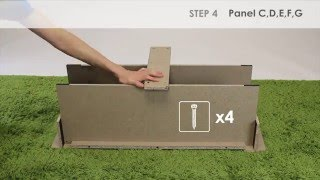 How to Assemble Furinno 12186 Parsons 42-in TV Entertainment Center