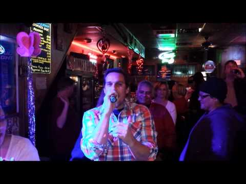 "Donna's Bar Karaoke: Marky B Good ""Sex on Fire"""