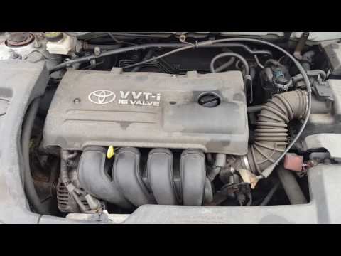 Контрактный двигатель Toyota (Тойота) 1.8 1ZZ-FE | Где купить? | Тест мотора