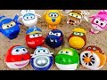 Super Wings, Turn Into The Eggs And Attack The Monsters - ToyMart TV