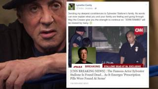 SYLVESTER STALLONE DEAD? 'RAMBO' FALLS VICTIM TO DEATH HOAX AS FACEBOOK USERS DRAW FIRST BLOOD