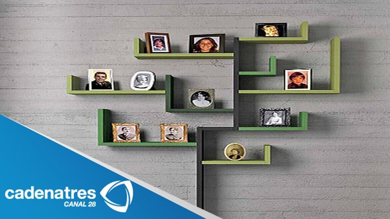 Formas creativas para hacer un rbol geneal gico youtube for Como hacer un perchero de pared