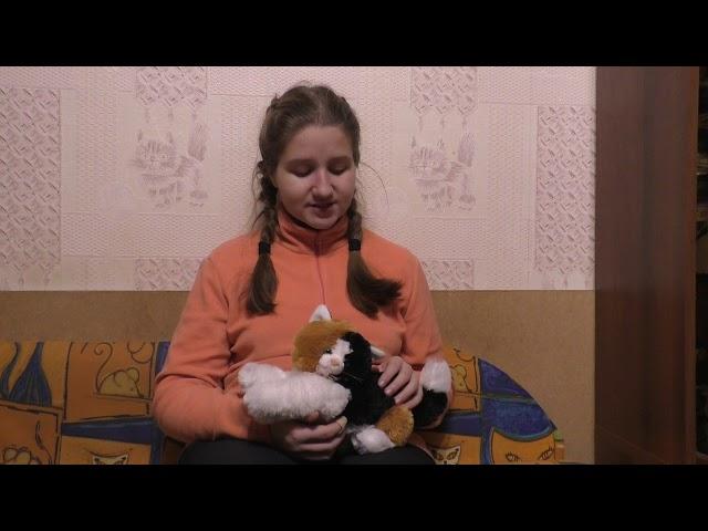Изображение предпросмотра прочтения – ЕвгенияПолухова читает произведение «Котёнок» Е.А.Благининой