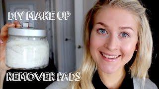 DIY: Natural Homemade Makeup Remover Pads