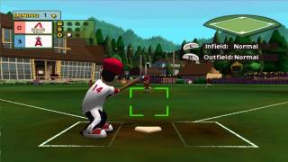 Dolphin Emulator 4.0.2 | Backyard Sports Baseball 2007 [1080p HD] | Nintendo GameCube
