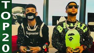 Corridos Mix 2020   Top 20 Videos   Natanael Cano, Fuerza Regida, Junior H, Herencia De Patrones
