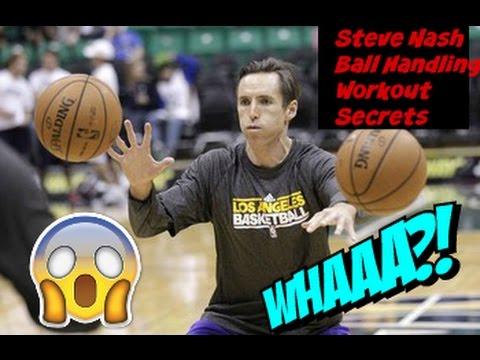 Steve Nash : 6 Minute NBA Ball Handling Workout Secrets    Point Guard Skills Workout