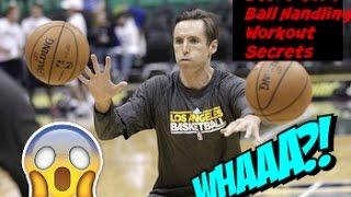Steve Nash : 6 Minute NBA Ball Handling Workout Secrets |  Point Guard Skills Workout thumbnail