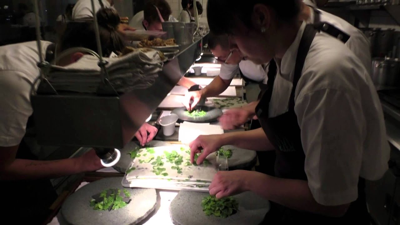 Busy Restaurant Kitchen busy kitchen at restaurant boragó in santiago, chile - youtube