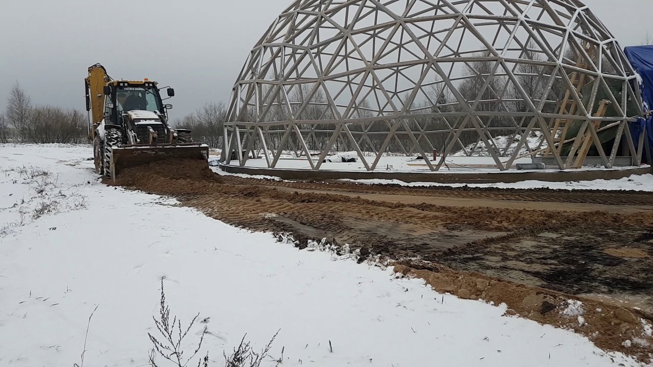 Geo dome walk through 3