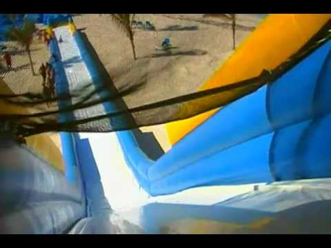 Hippo Water Slide At Great Stirrup Cay Bahamas Norwegian Cruise Lines Youtube