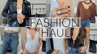 TRY ON FASHION HAUL | Spring Style