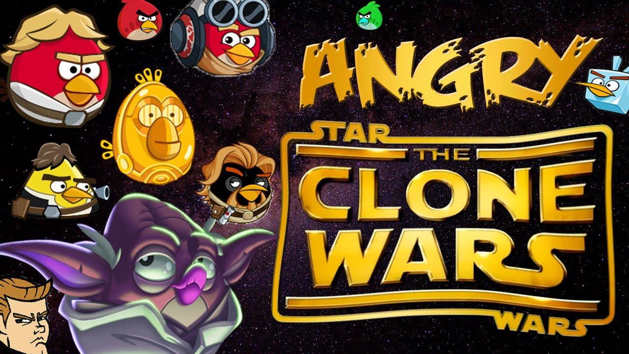 Angry Clone Warsangry Birds Meet Star Wars Clone Wars