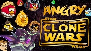 Angry Clone Wars(angry birds meet star wars clone wars)parody video