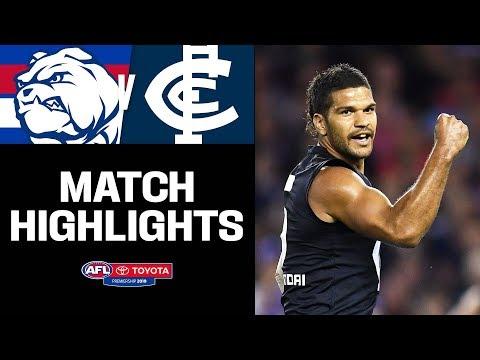 Splendid Samo's Career Day   Western Bulldogs V Carlton Highlights   Round 5, 2019   AFL