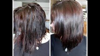Je n'ai pas lavé mes cheveux pendant 1 mois : ma cure de sébum en détails ! le avant/après