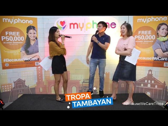 Tropa Tambayan EP04 - MyPhone may regalong FREE P50,000 Insurance