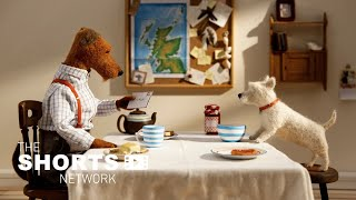 Stop-Motion Animated Short Film | Archie and his pet dog go on a long journey.