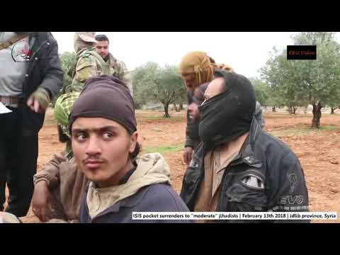 Syria War, Idlib province | ISIS pocket surrenders | February 13th 2018