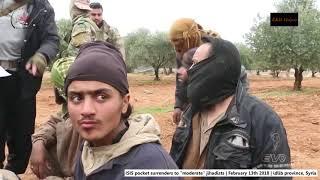 Syria War, Idlib province   ISIS pocket surrenders   February 13th 2018