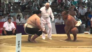 Almaz Ergeshev KGZ Sumo, 2nd bout