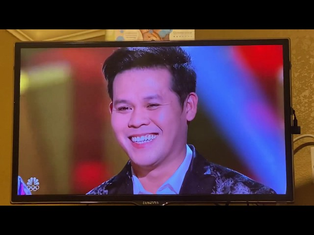 Marcelito Pomoy, singer of Manny Pacquiao 4th place in America's Got Talent- THE CHAMPIONS