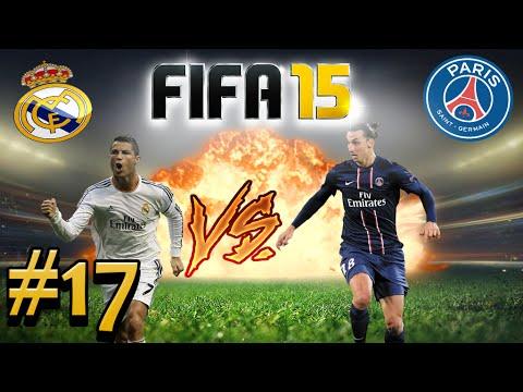 FIFA 15   #17 REAL MADRID VS PSG...SHOW DE BOLA - YouTube