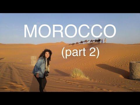 MOROCCO (PT 2/2: Sahara Desert & Fez!) // travel vlog #17