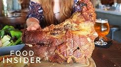 We Tried A Whole Fried Pig's Head