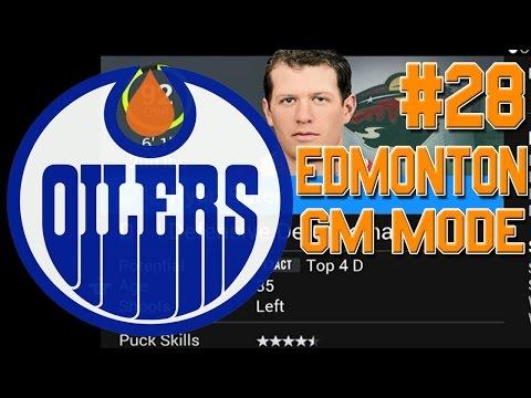"""NHL 16 """"GM Mode"""" #28 l HUGE TRADE DEADLINE l Edmonton Oilers"""