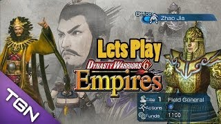 Lets Play Dynasty Warriors 6 Empires (Birth Of Zhao Jia) Part 1