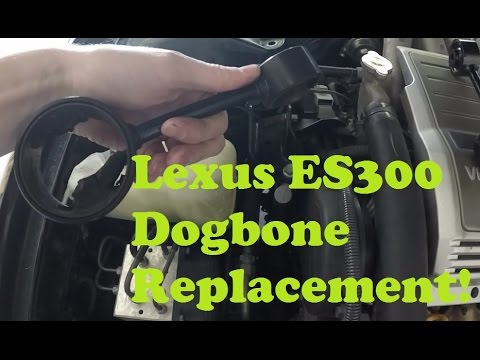 lexus es300 upper motor mount replacement youtube  lexus es300 upper motor mount replacement